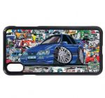 Koolart Stickerbomb & Licensed Sierra Sapphire RS Cosworth Car Image Phone Case Cover Fits iPhone